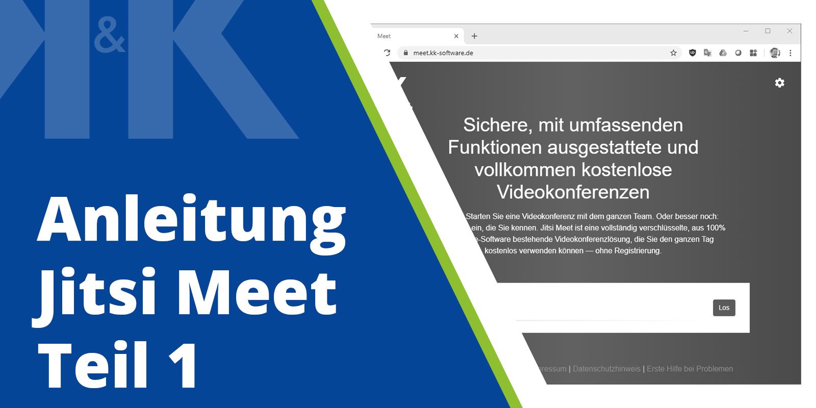 Blogpost Thumbnail Anleitung Jitsi Meet Teil 1